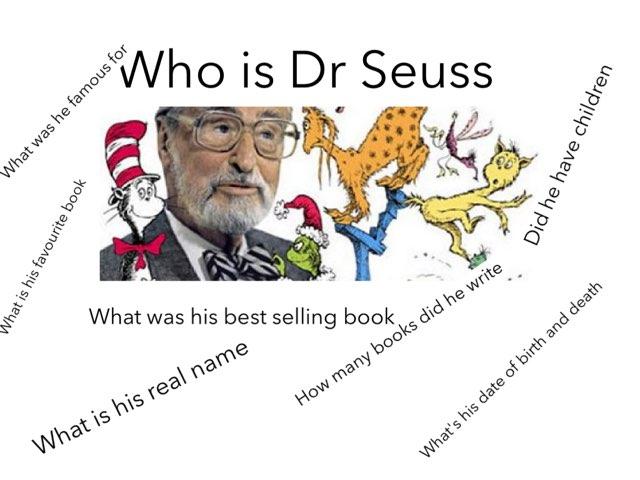 Cullen A Callum Dr Seuss by Mr swallow