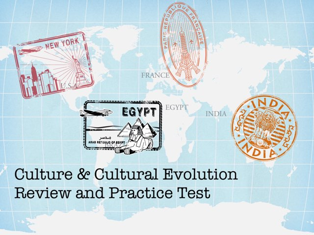 Culture & Cultural Evolution Review by Elizabeth Miller
