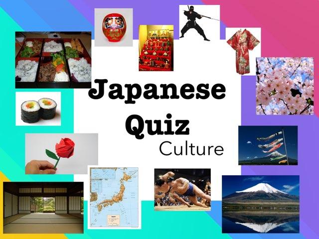 Culture Quiz by Lauren Hunter