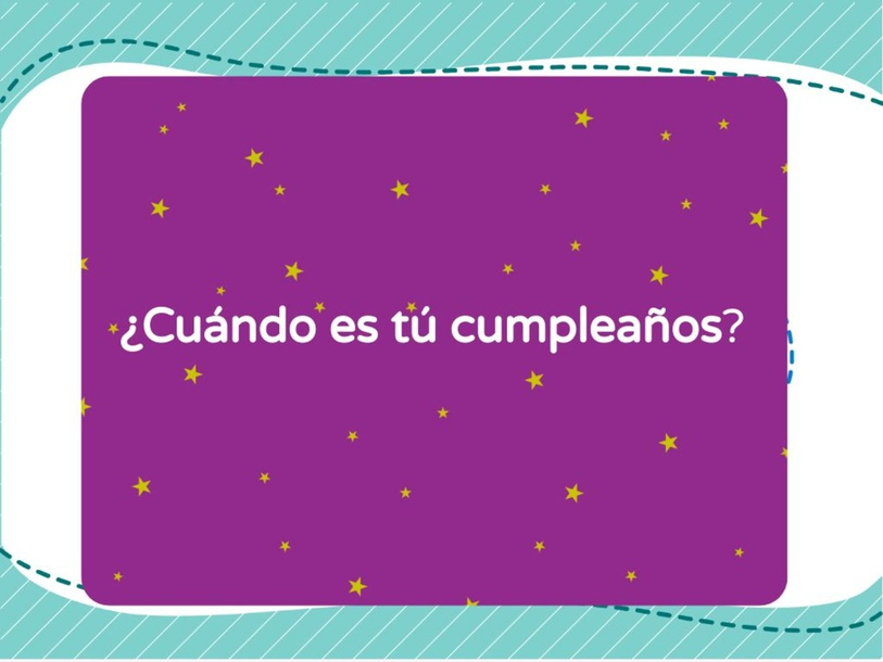 ¿Cuándo es tú cumpleaños? by pamela.ronenwwprsd