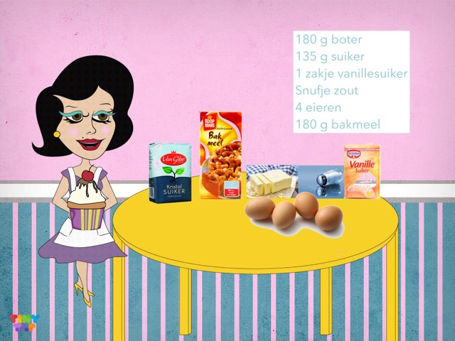 Cupcakespel by Kasia Koppes