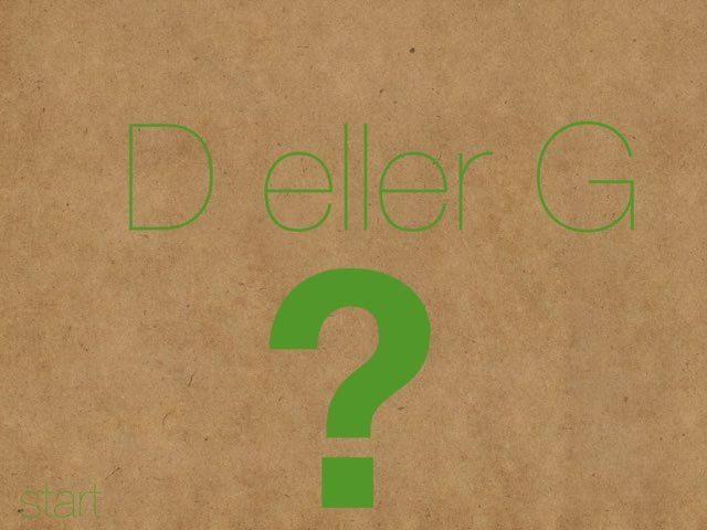 D eller G? - www.MinKusineMaria.dk by Min Kusine Maria