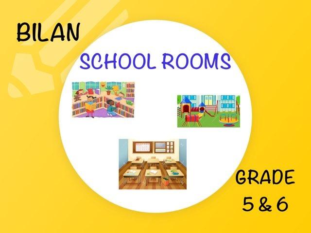 SCHOOL ROOMS (BILAN) by Laurence Micheletti