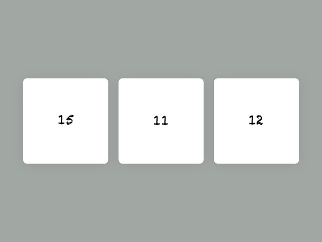 Number identification by Kelly Murakami