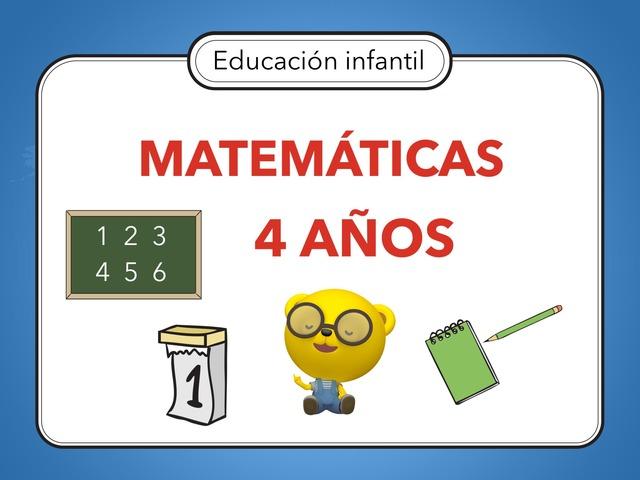 MATEMÁTICAS 4 AÑOS by Miguel de Cervantes