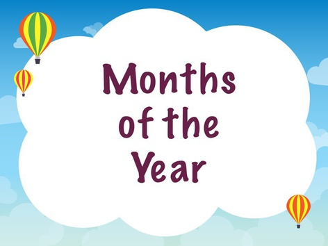 Months of the Year by Michelle Cabalo