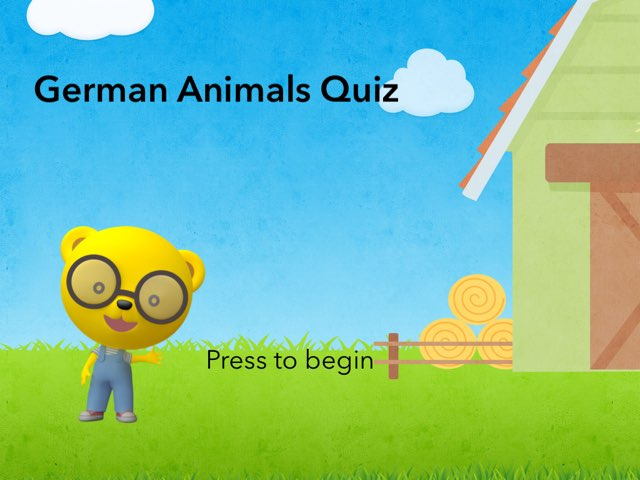 German Animals Quiz by Josh Dobos