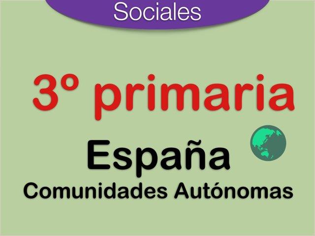 España Comunidades Autónomas  by Elysia Edu