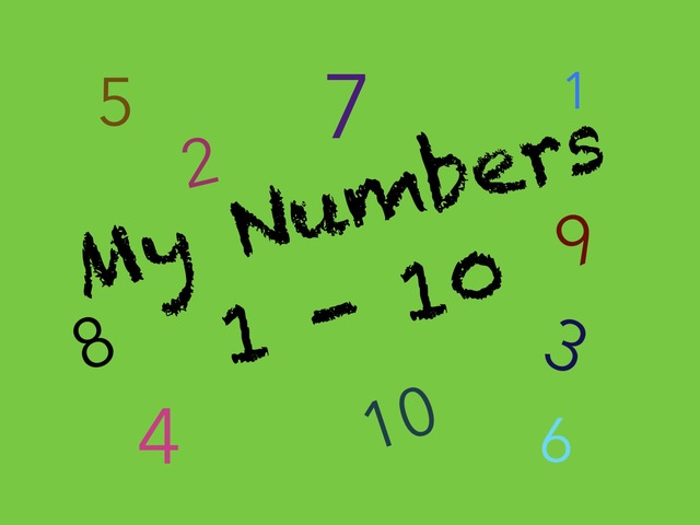 My Numbers 1-10 by Sonia Landers