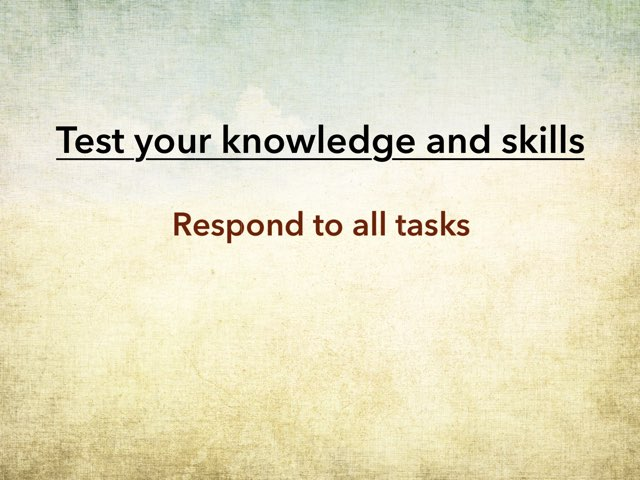 Skills Template by Paul Nemeth