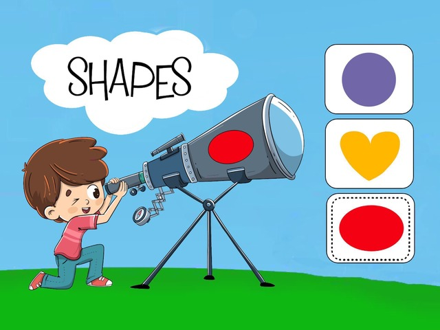 Shapes With William by Cici Lampe