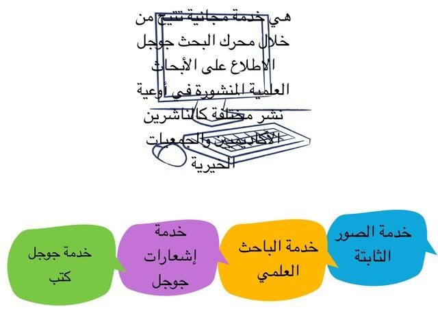 خدمات محركات البحث ٤ by هيفاء الصالح