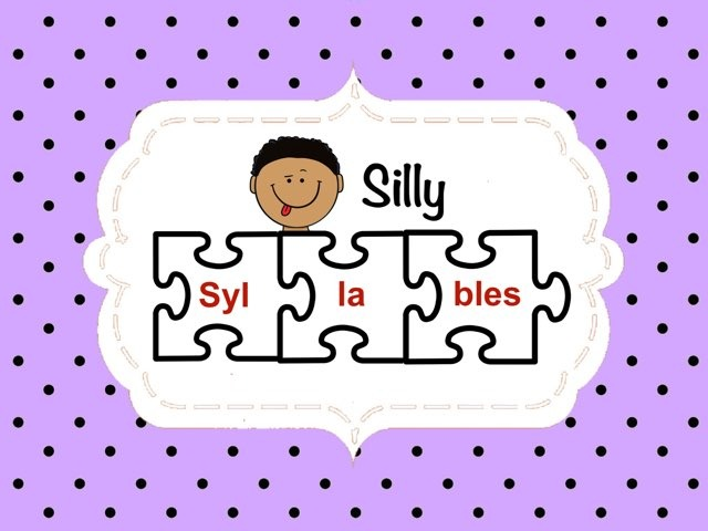 Silly Syllables by Ellen Weber