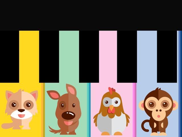 Animal Piano by Teeny Tiny TEFL