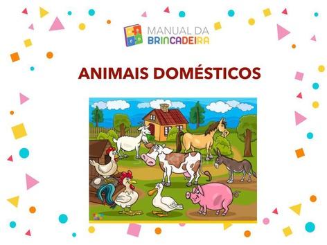 Animais Domésticos  by Manual Da Brincadeira Miryam Pelosi