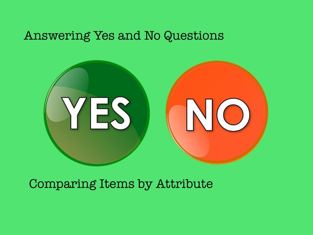 Yes, No Questions #7 by Carol Smith