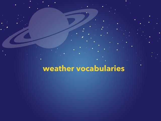 Weather  by Lama Ali