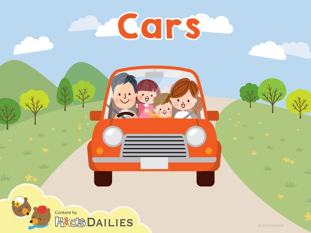 Cars by Kids Dailies