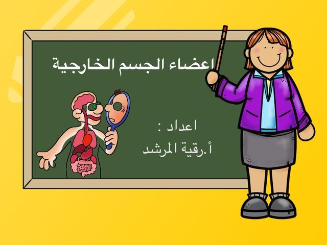 اعضاء الجسم الخارجية by Rgooya Alm