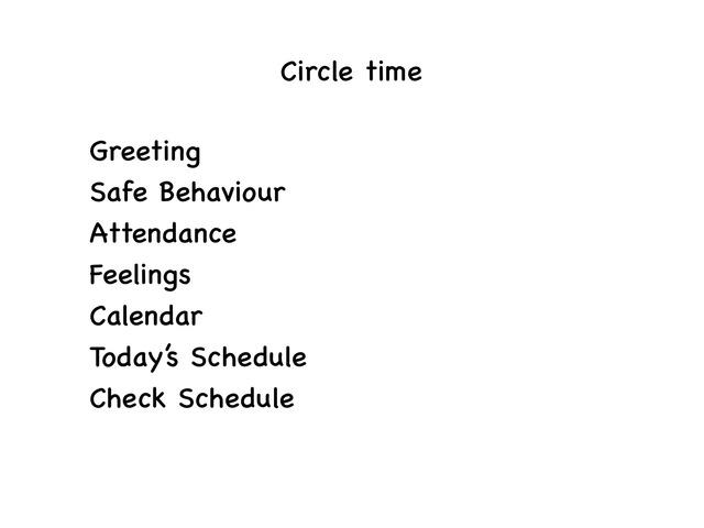 Circle Time by Chloe Wong