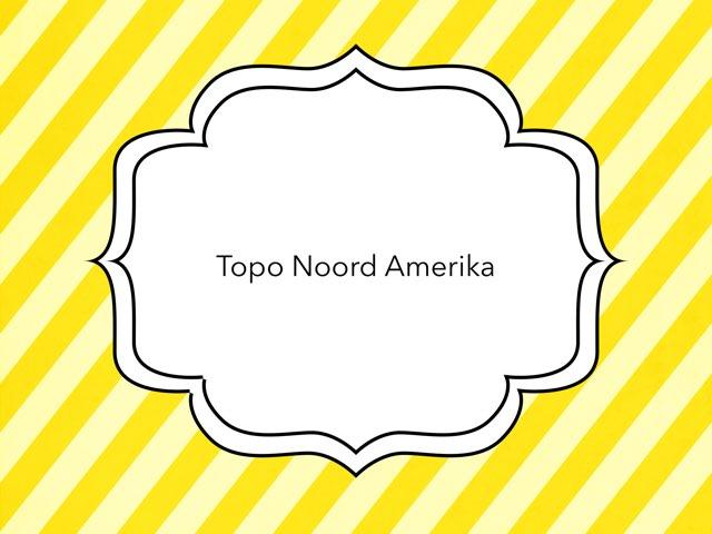 Topo Noord Amerika by Linda Pierweijer