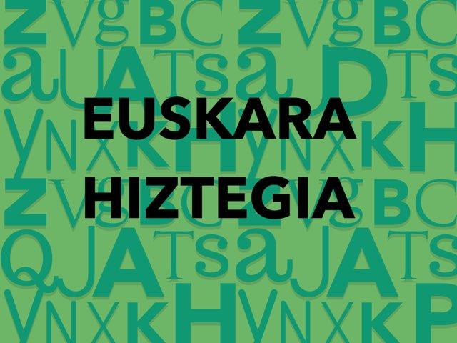 Hiztegia Irudiekin by Aiora Atutxa