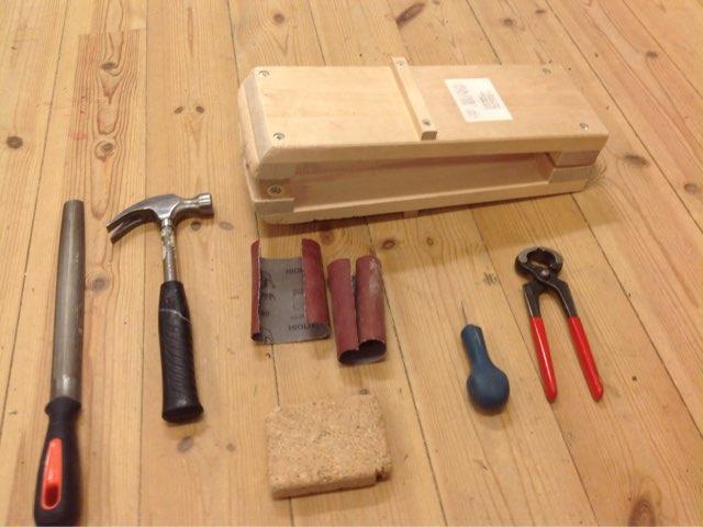 Budbärare, verktyg by Slöjdsalarna på Växthuset