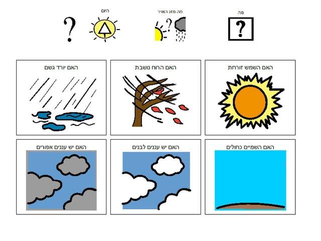 מזג האוויר by Adi Regev Cohen
