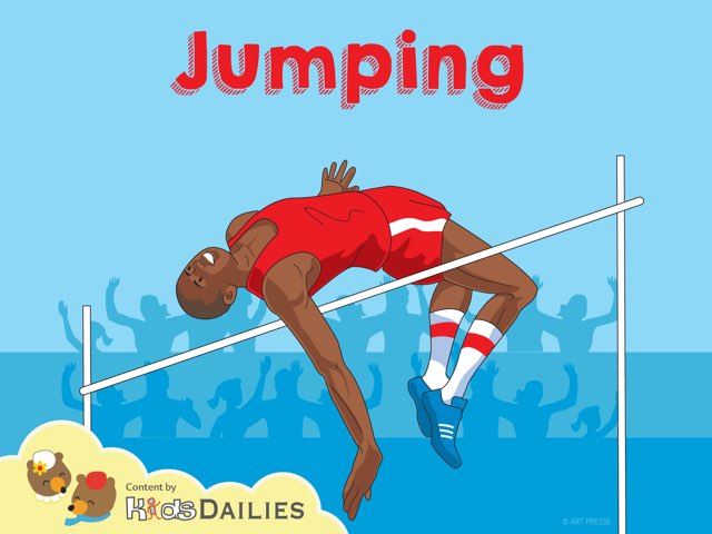Jumping by Kids Dailies