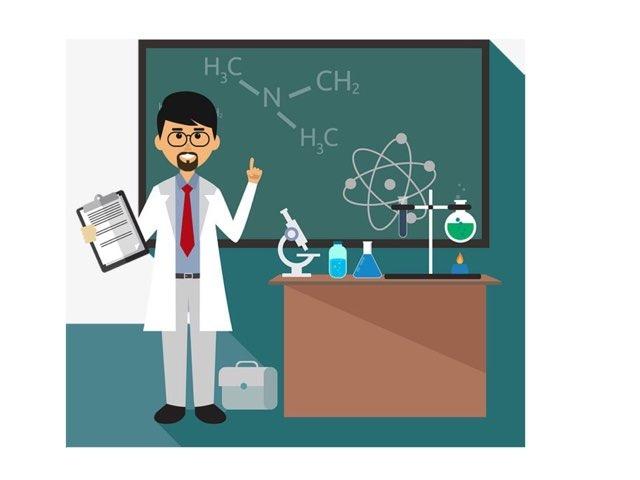 Chemstry Teacher by Elham ali