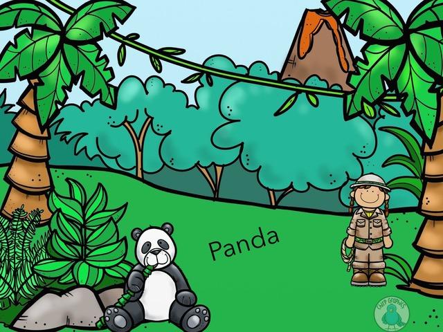 Panda by TinyTap creator