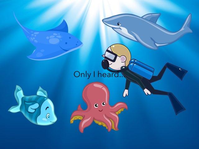 Underwater sea quiz  by Holli Strapponi