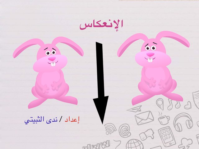 درس الانعكاس by ندى الثبيتي