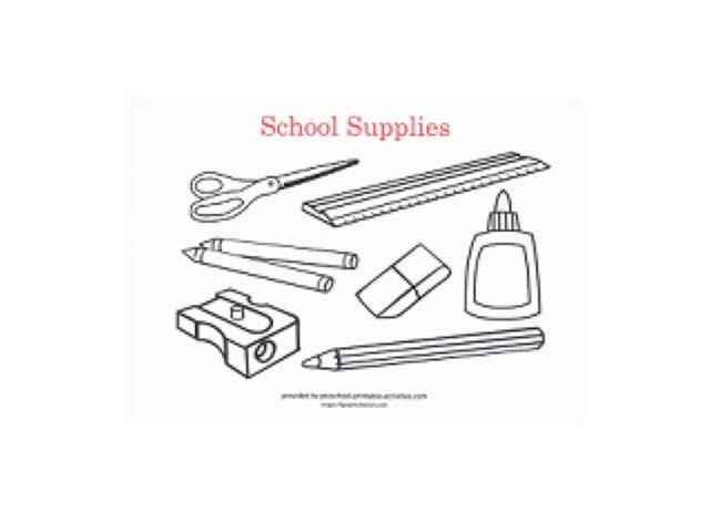 School Items by Samia Metawe