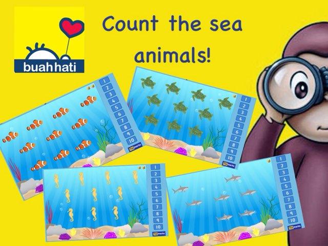 Count Sea Animal by Gundala Petir