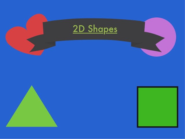 2D SHAPES by Emma Griffiths