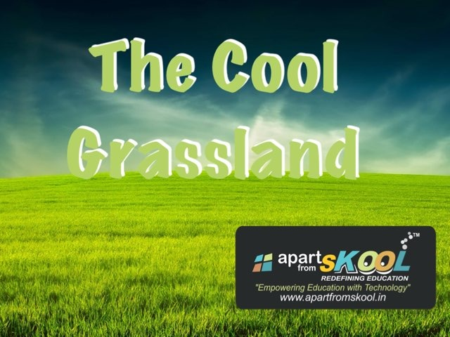 The Cool Grassland by TinyTap creator
