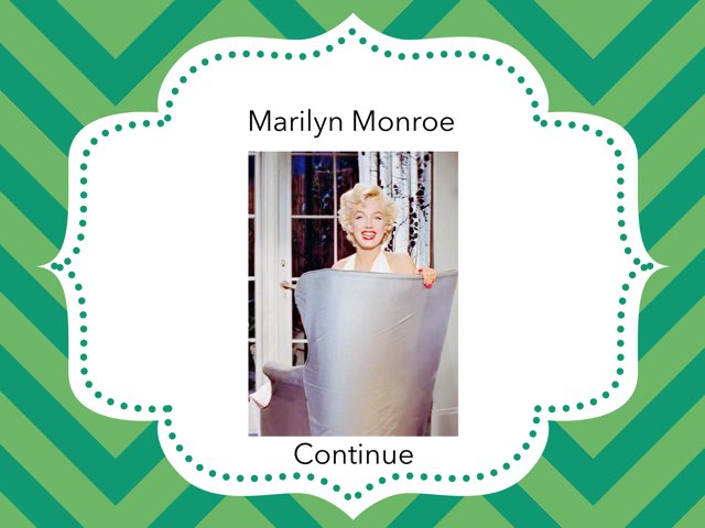 Who was Marilyn Monroe by Alicia D.
