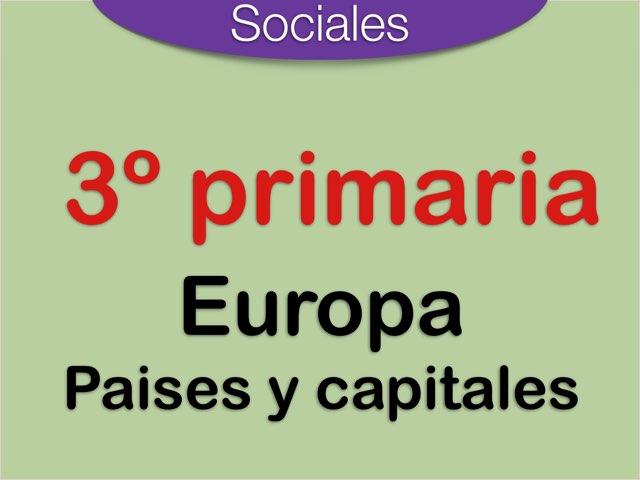 Europa países y capitales by Elysia Edu
