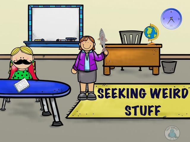 Seeking Weird Stuff by Hadi  Oyna