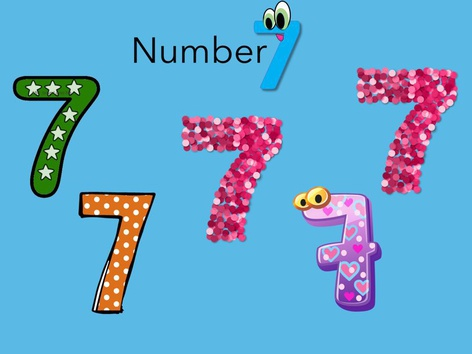 Number 1-7 by Joana Reyes