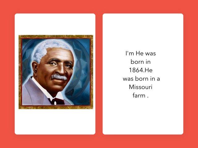 George Washington Carver by Christine Snow