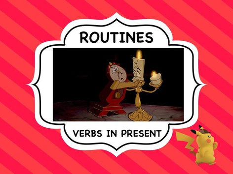 Routines - Verbs In Present  by ShowAnd Text