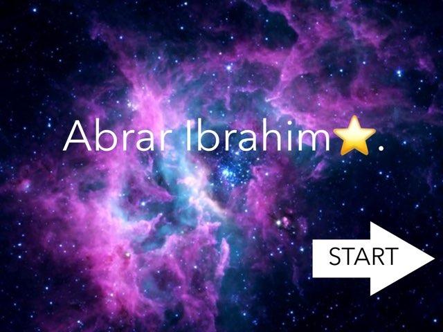 ابرار ابراهيم  by abrar 26