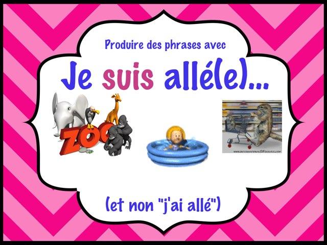 Utiliser le bon auxiliaire by Marie-Claude GR
