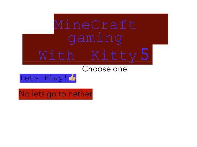 Minecraft Gaming Kitty5 by Kiraremkus pika