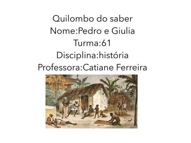 Giulia E Pedro  by Rede Caminho do Saber