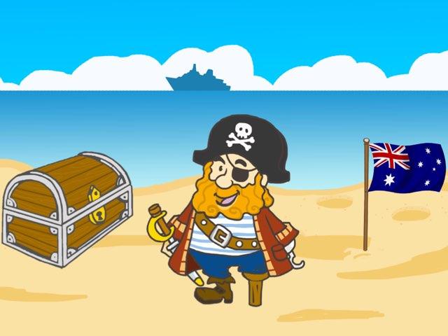 vormpuzzel met piraat by mark zoetemeijer