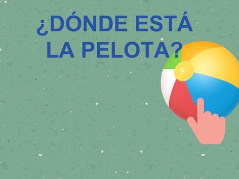 ¿DÓNDE ESTÁ LA PELOTA? by Jose Sanchez Ureña