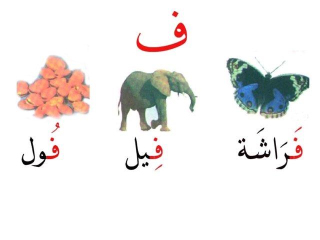 حرف الفاء by Noura Alshalahi